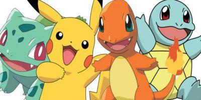 De cerca le siguen Bulbasaur, Charmander y Squirtle. Foto:Pokémon