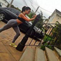 Era una estrella de Instagram donde compartía sus rutinas fitness Foto:Instagram.com/karina.vee