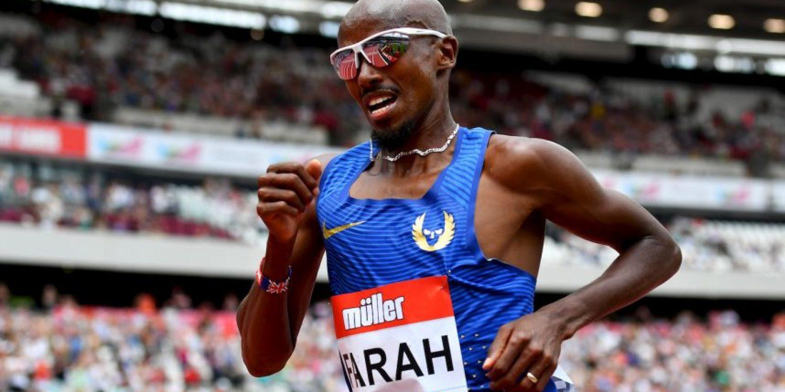 Mo Farah (atletismo): El británico es el gran fondista de la actualidad y en Londres 2012 sumó el doblete de oro en los 5000 y 10000 metros. Luego, revalidó sus marcas en los Mundiales de Moscú 2013 y Beijing 2015, siendo el gran favorito en Rio y así seguir destronando a los africanos. Foto:Getty Images
