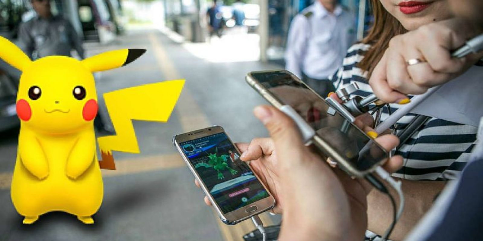Pokémon Go está causando furor. Foto:Getty Images/Edición