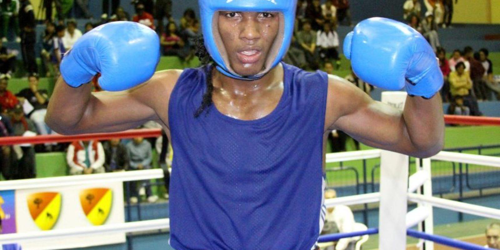 Carlos Mina saldrá a buscar la primera medalla en la historia del boxeo de los Juegos Olímpicos Foto:Andes