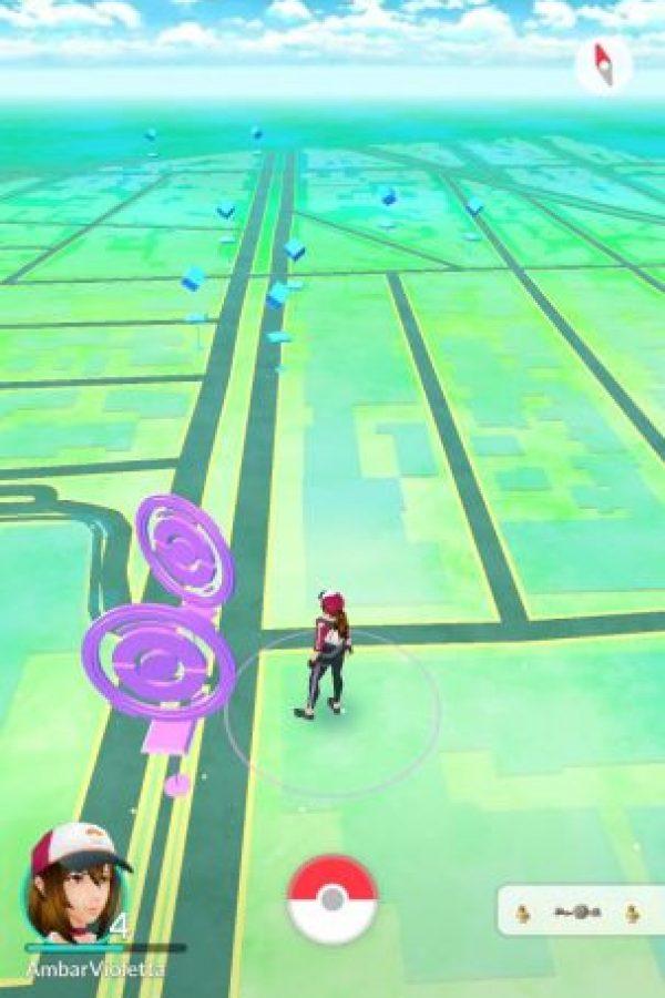 Estas son las poképaradas. No confundir con gimnasios. Foto:Pokémon Go