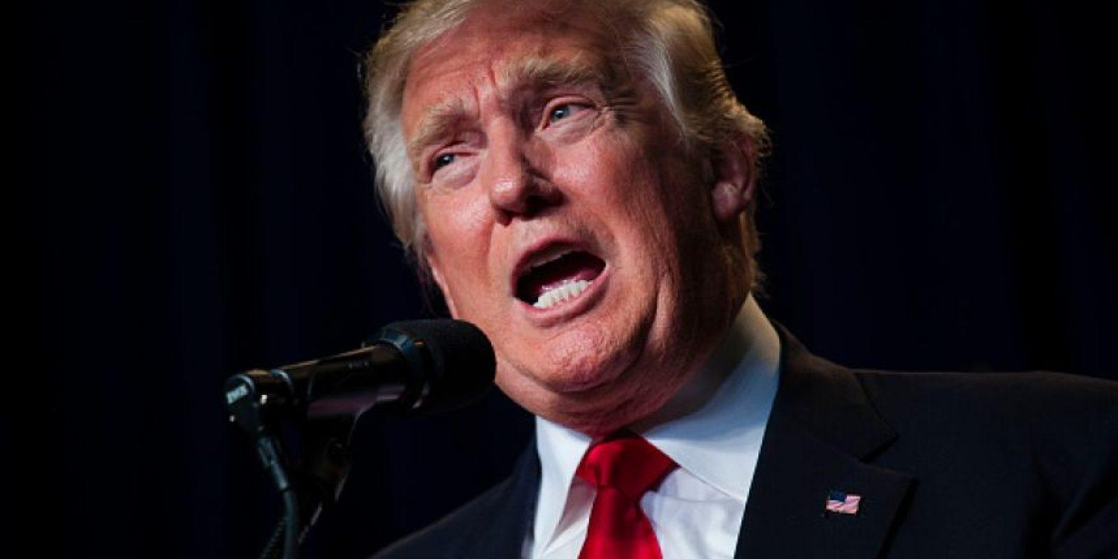 Tiene un 39% de preferencia electoral, frente al 49% de la candidata demócrata Foto:Getty Images