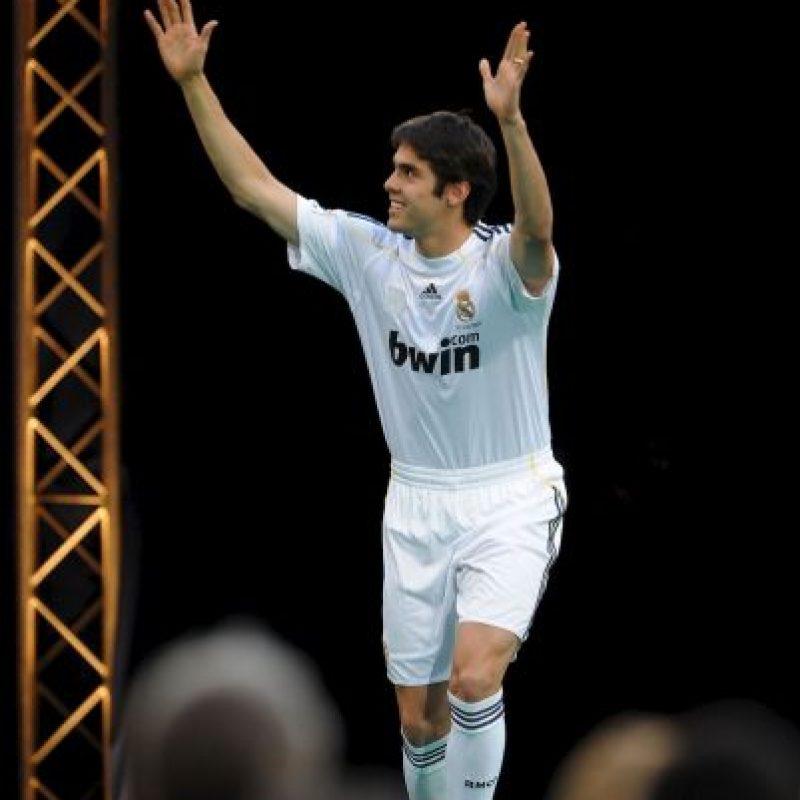 13. Kaká. Real Madrid le dio al Milán 67 millones de euros en 2009 Foto:Getty Images