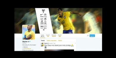 1. Neymar (@neymarjr) – 23.9 millones Foto:Twitter
