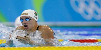 Katinka Hosszu impuso su segundo réord olímpico en las eliminatorias de 200 metros de nado combinado. Foto:Getty Images