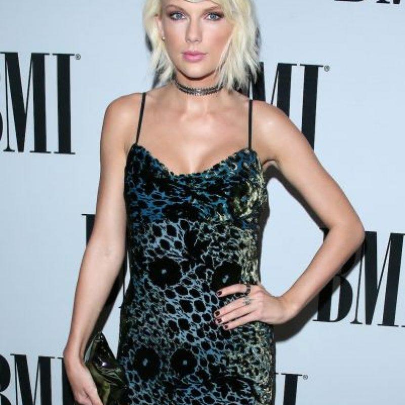 Así lucía Taylor hasta hace unos días Foto:Getty Images