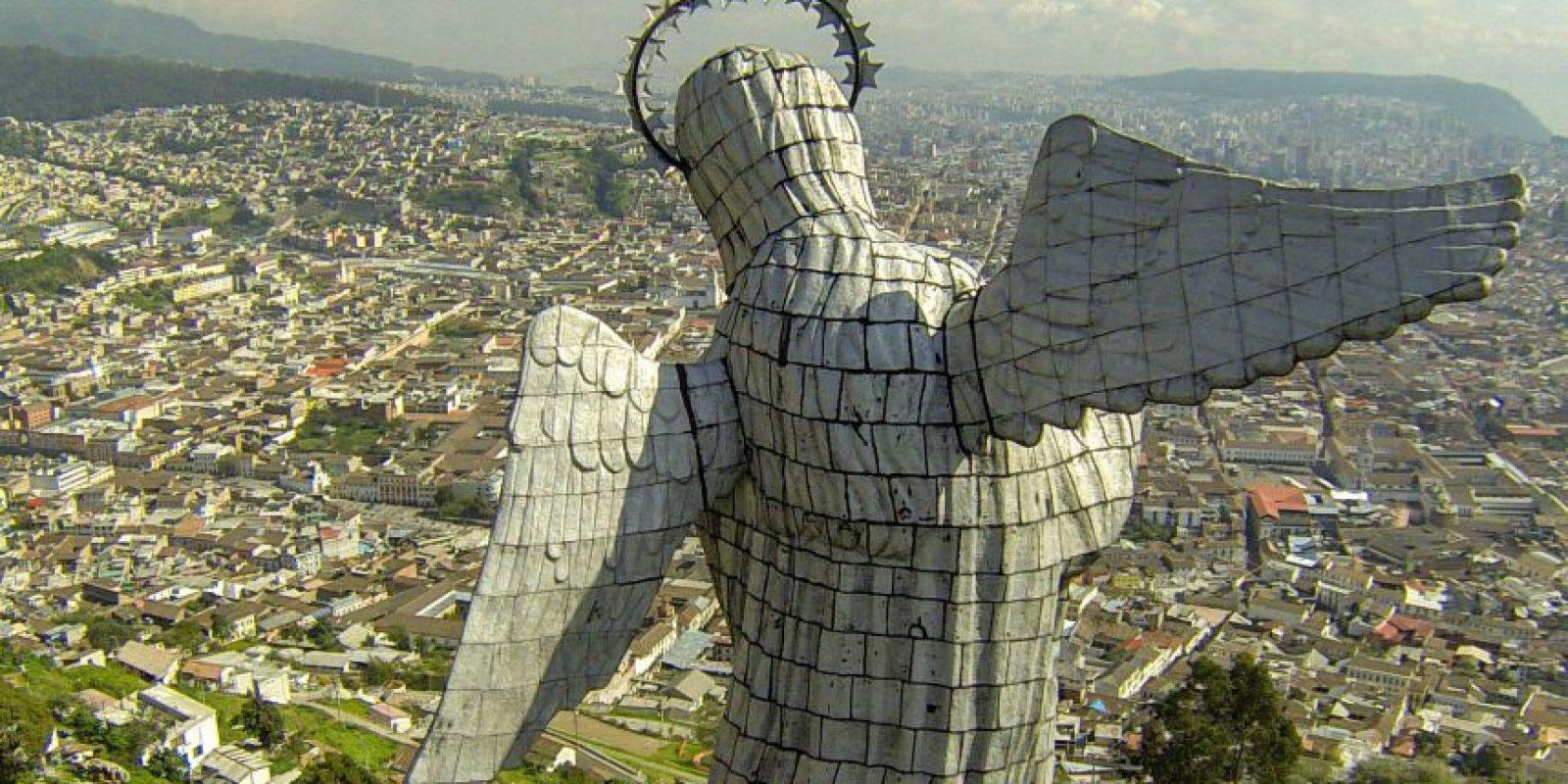 Quito, es la capital del Ecuador y está sobre un sistema de fallas. Foto:Internet