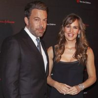Cuando aún estaba casado con Jennifer Garner. Foto:vía Getty Images