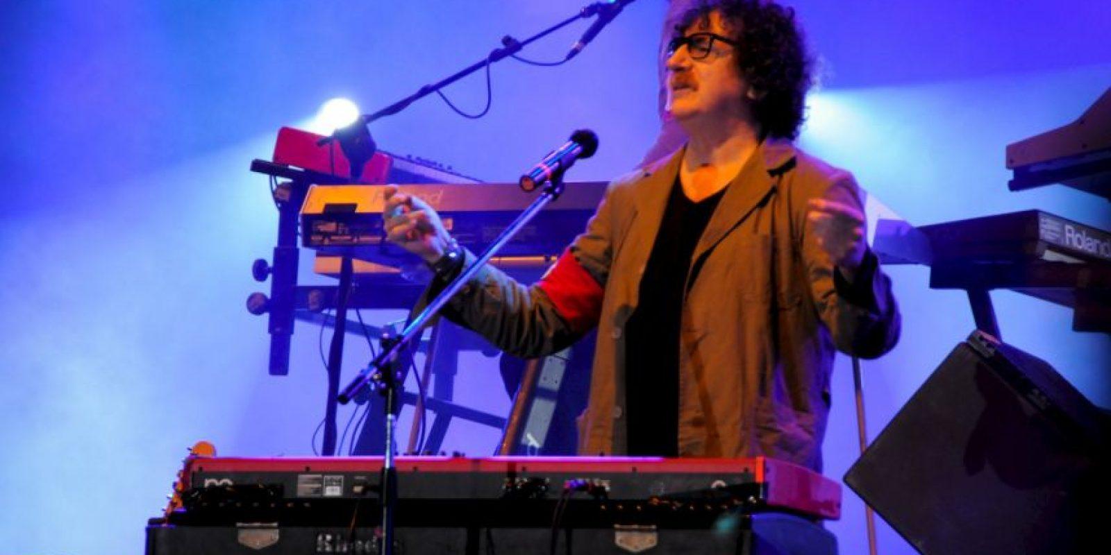 Y Charly García. Foto:Getty