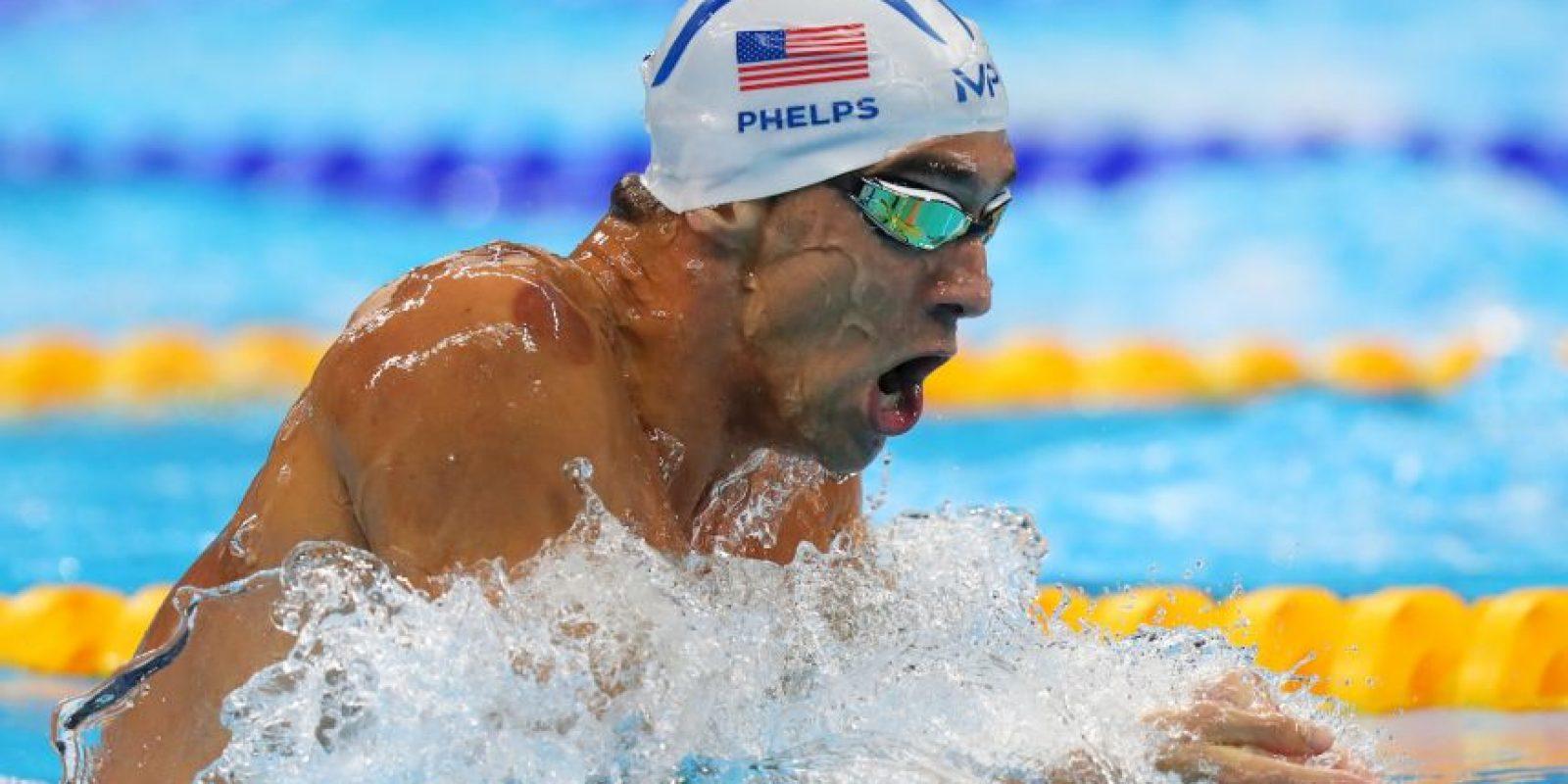 """El """"Tiburón de Baltimore"""" supera a 93 países que han obtenido medallas en la historia de los Juegos Olímpicos modernos Foto:Getty Images"""