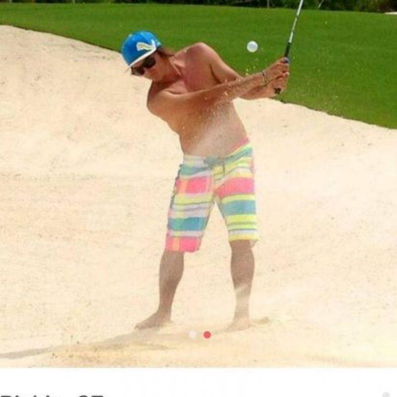 El golfista Rickie Fowler Foto:Instagram