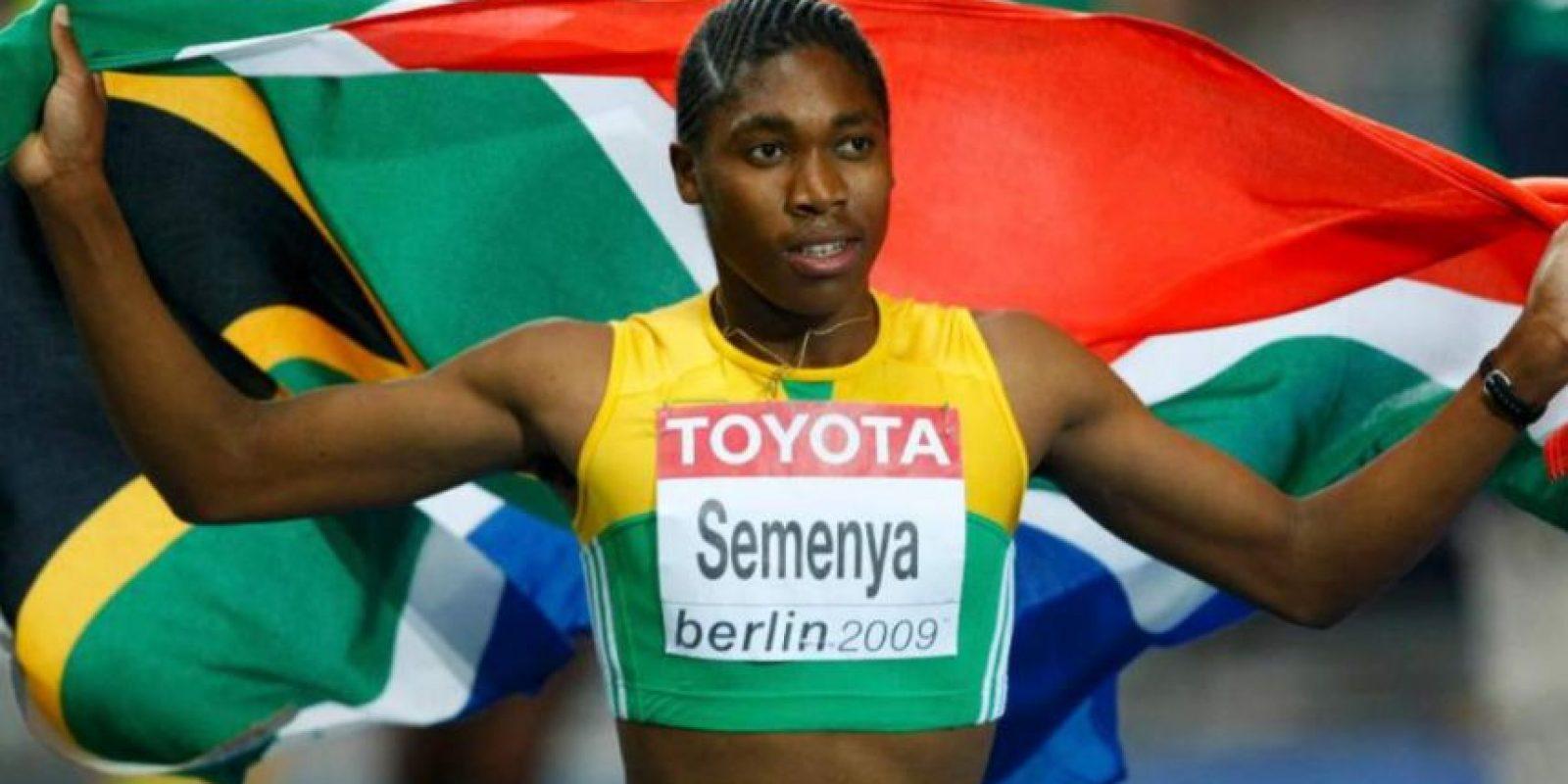 Caster Semenya – La atleta sudafricana estuvo en el ojo del huracán porque se decía que era un hombre. Foto:Getty Images