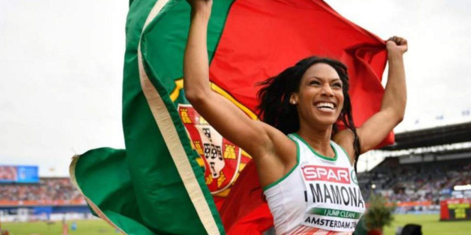 Patrícia Mamona – Atleta portuguesa, ha sido campeona de triple salto con un apellido más que sugerente. Foto:Getty Images