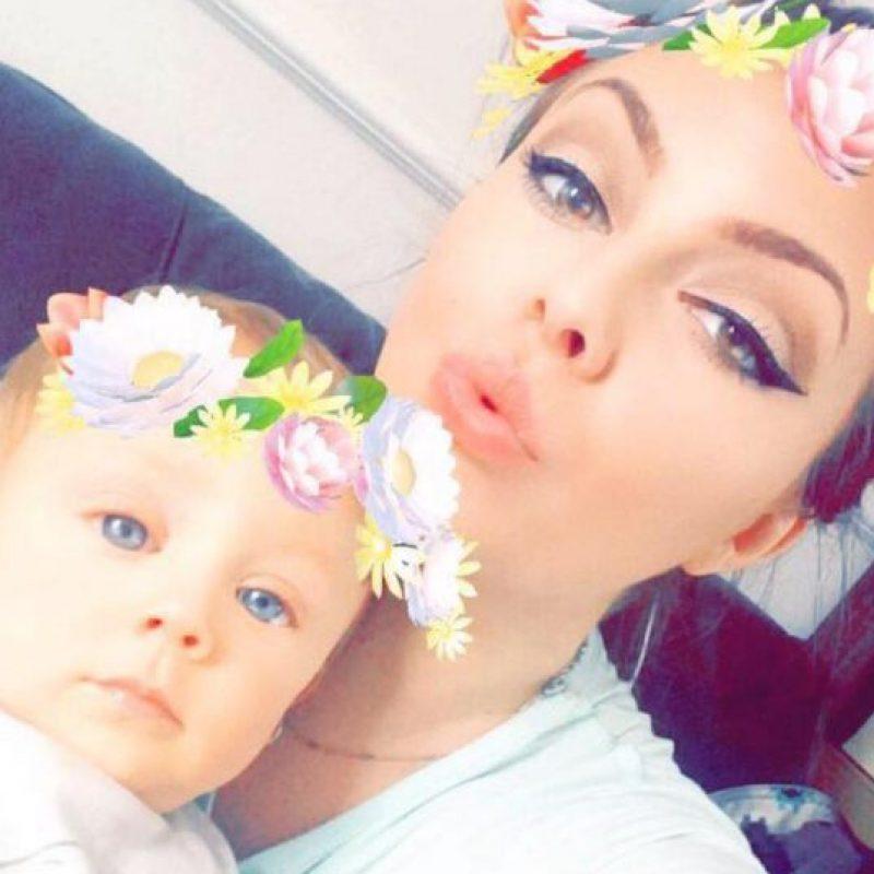 Jackie y su bebé Edward Foto:Facebook/Jackie Owings