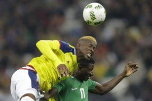 El futbolista colombia Jefferson Lerma se tiño la cresta de amarillo. ¿Será en honor a la selección de Colombia?