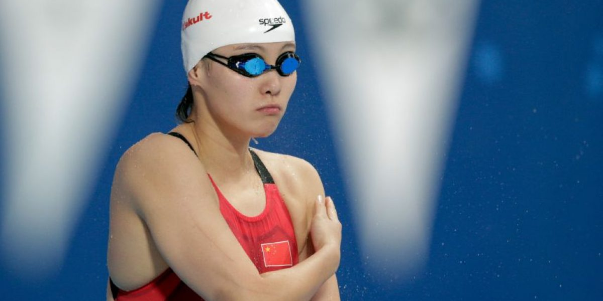 Nadadora confesó que compitió mientras tenía su periódo