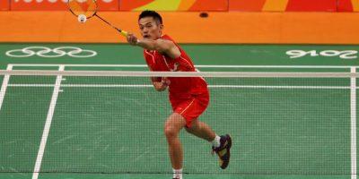 El chino puede imponerse por tercera ocasión en badmintón, a los 32 años Foto:Getty Images