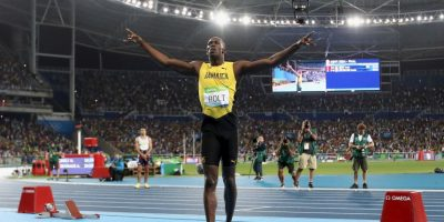 Ya ganó oro en 100 y 200 metros en Río 2016 Foto:Getty Images