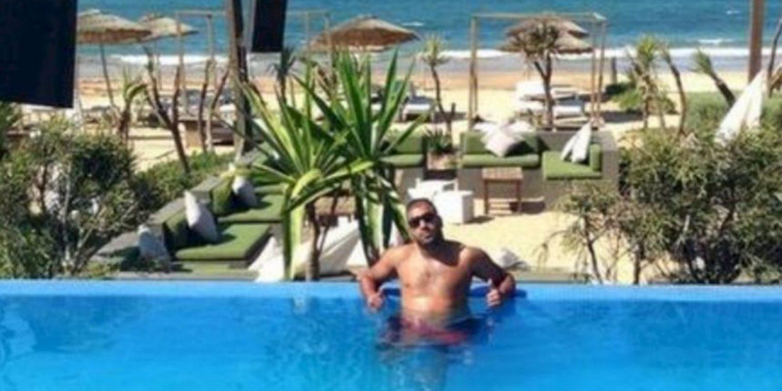 Nabil Ibelati robó una joyería en Cannes. Foto:Facebook