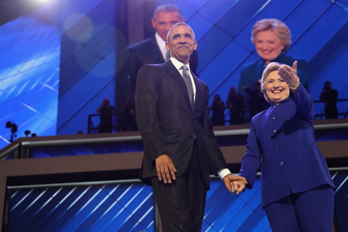 1. El fin de semana previo a la nominación de Hillary Clinton, hackearon al Comité Nacional Demócrata Foto:Getty Images