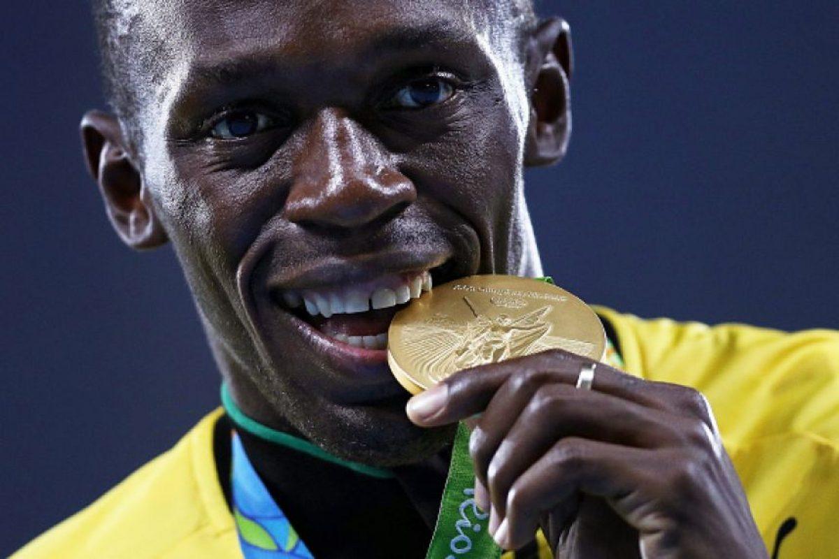 Usain Bolt se consagró como el hombre más rápido del mundo en Río 2016 Foto:Getty Images