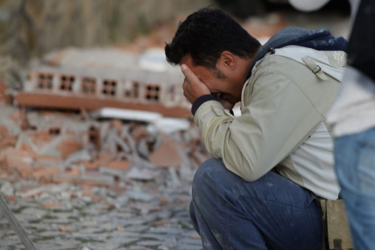Las imágenes más desgarradoras de la devastación provocada por el terremoto en Italia Foto:AFP