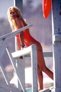 "Se hizo sex symbol por ""Baywatch"". Foto:Getty Images"