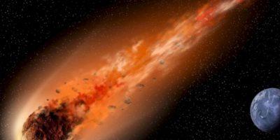 Aunque el temor mundial se acrecentó por el supuesto asteroide que caería (y no cayó), esto es lo que podría pasar si el asteroide que mató a los dinosaurios cayera en la Tierra. Foto:Astroart
