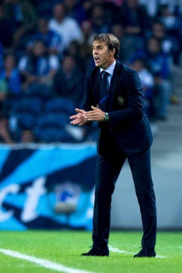 Julen Lopetegui sustituirá en el cargo de la Selección de España a Vicente del Bosque Foto:Getty Images