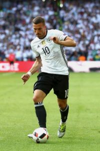 Lukas Podolski Foto: Getty Images