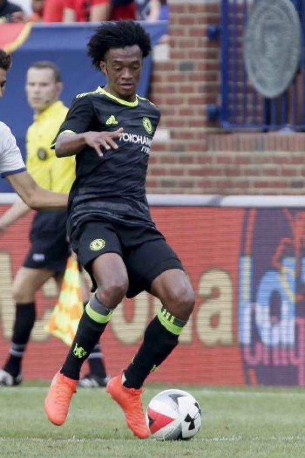 Juan Cuadrado (31 millones de euros). La temporada pasada no entró en planes de José Mourinho y en esta tampoco fue del agrado de Antonio Conte, por lo que volvería a ser cedido de Chelsea a Juventus Foto:Getty Images