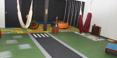Aula sensorial que fue inaugurada. Imagen Por: