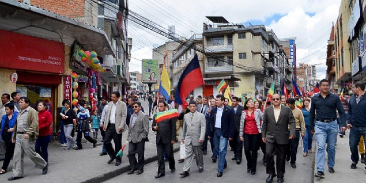 En Carchi alistan marcha contra el Gobierno