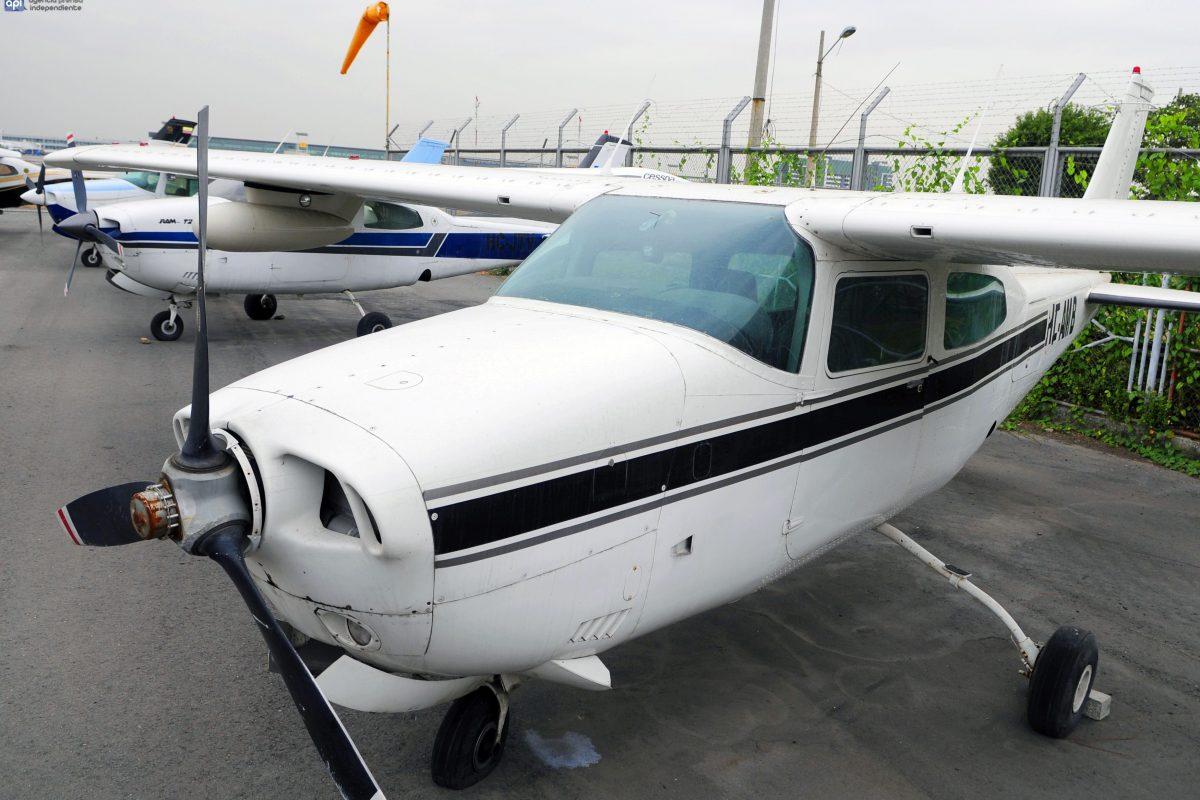 Una de las avionetas involucradas en el caso. API