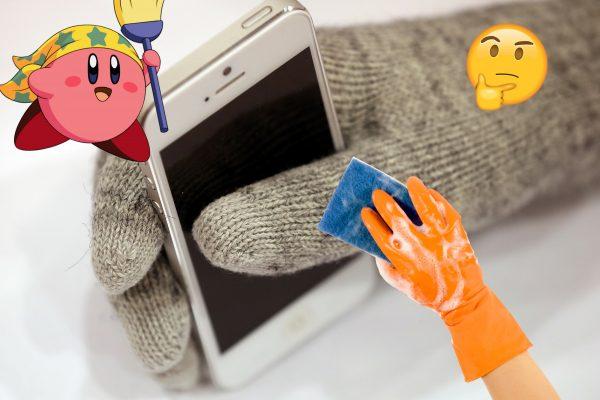 ¿Cómo limpiar correctamente la pantalla de su celular?