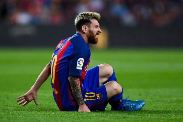 Lionel Messi también hace compras en el supermercado