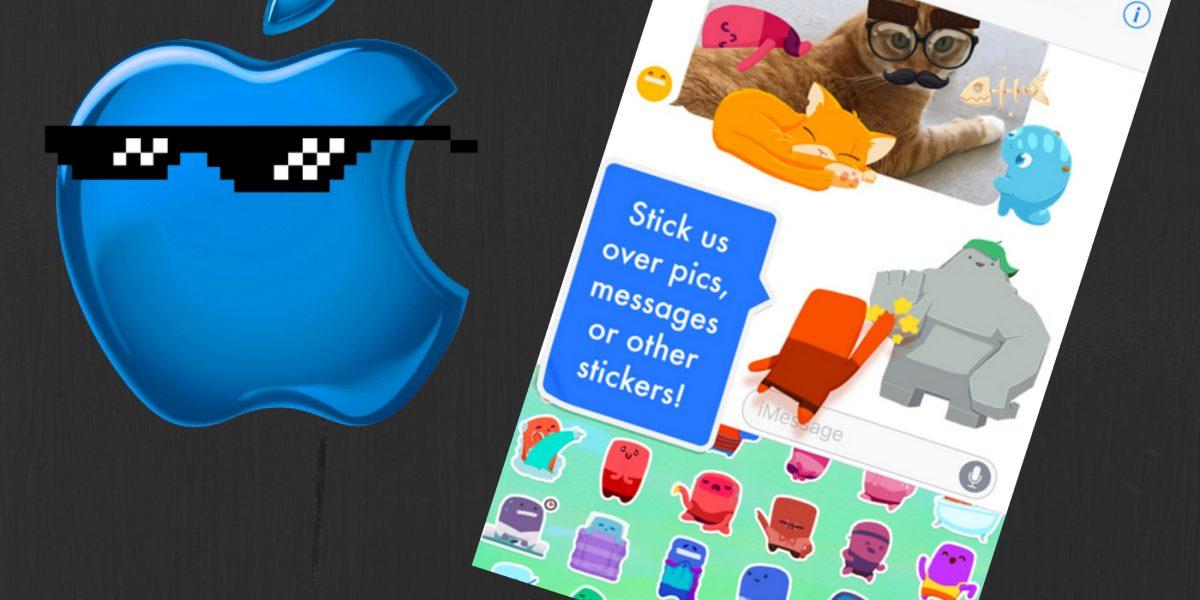 iOS 10: los mejores stickers gratis para iMessages