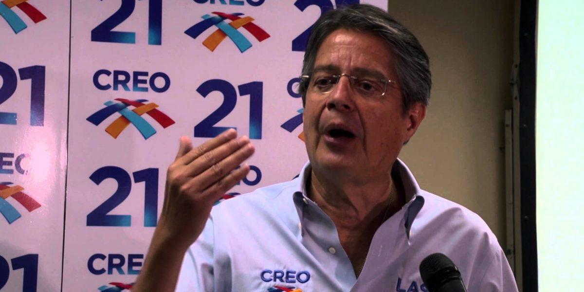 Guillermo Lasso anuncia creación de plataforma para control electoral