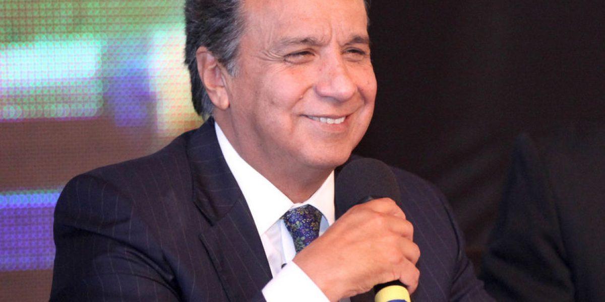 Lenin Moreno confiado con los resultados del CNE