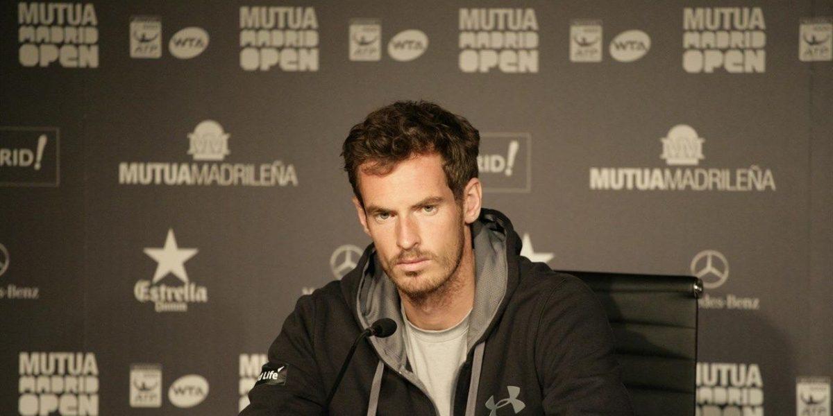 Andy Murray denuncia acoso de empleada de hotel
