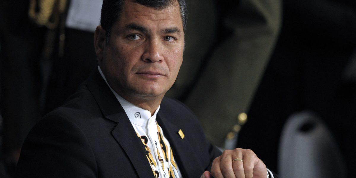 """Correa: """"La historia sabrá reconocer lo bien que hemos manejado la economía"""