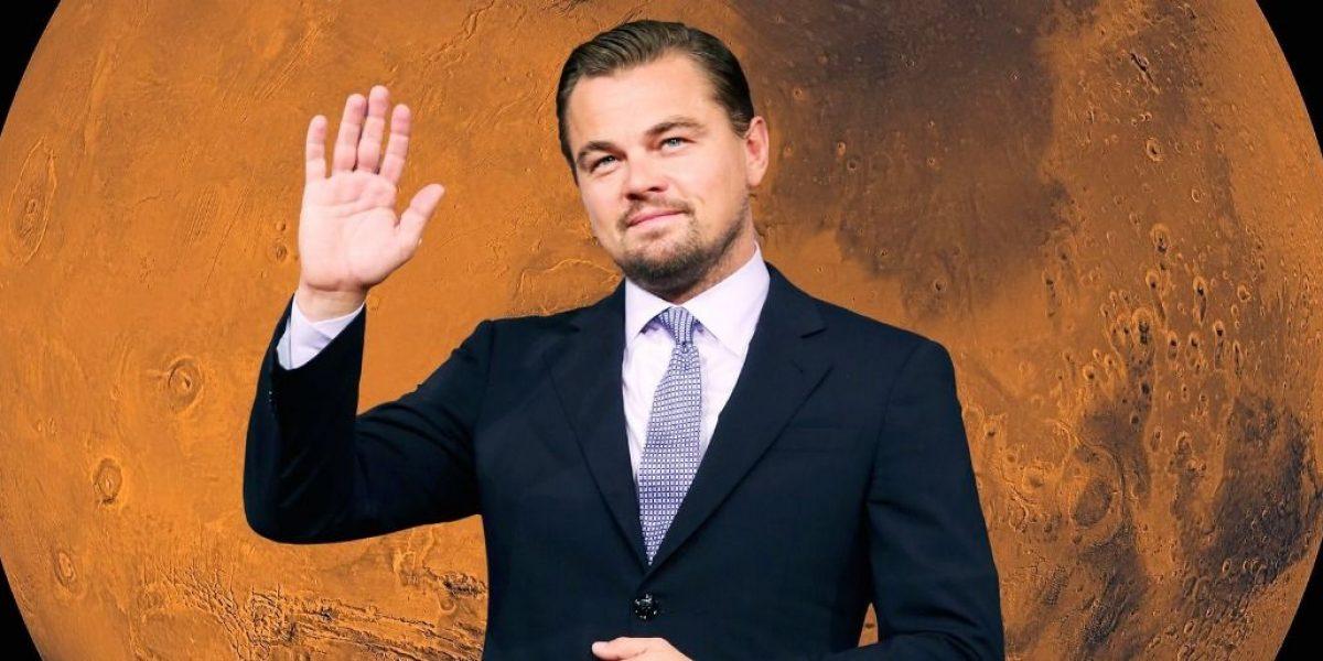 Leonardo Di Caprio compró su pasaje a Marte