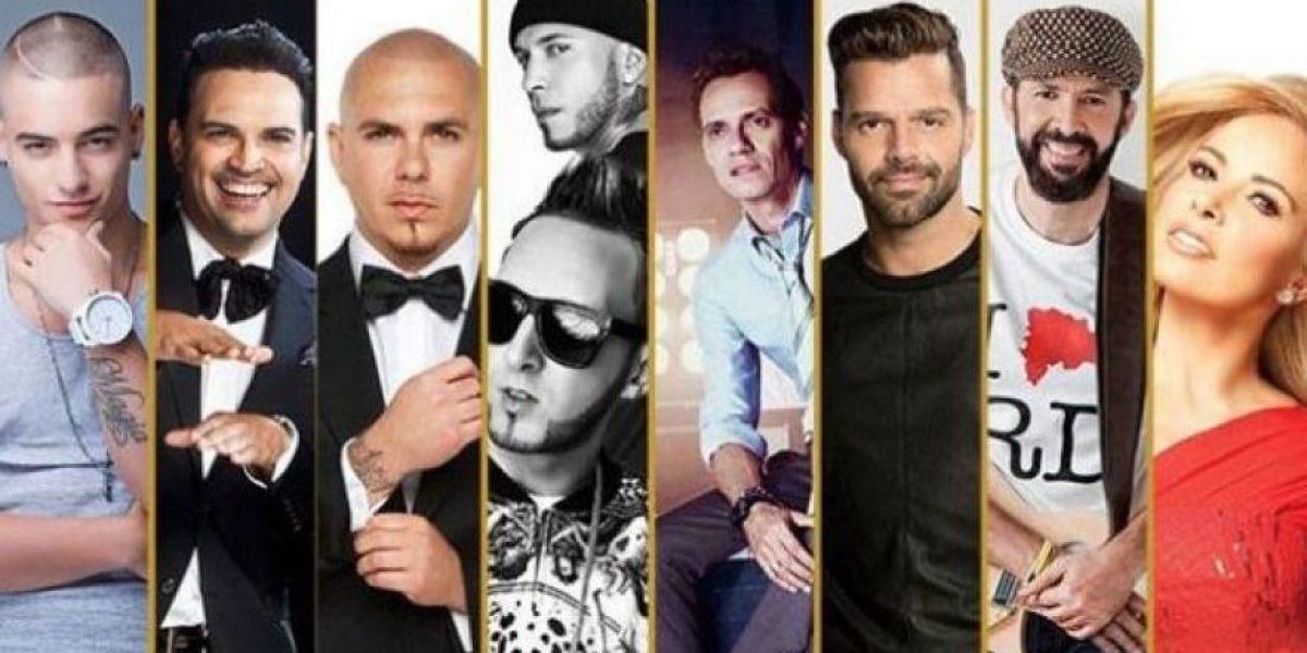Latin American Music Awards 2016, lista de nominados