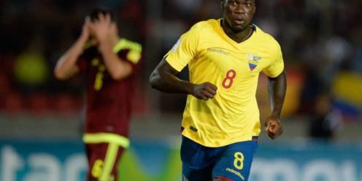 Felipe Caicedo con lesión muscular