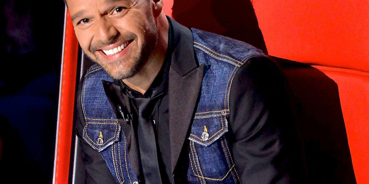 Ricky Martin, atrevido en Global Gift