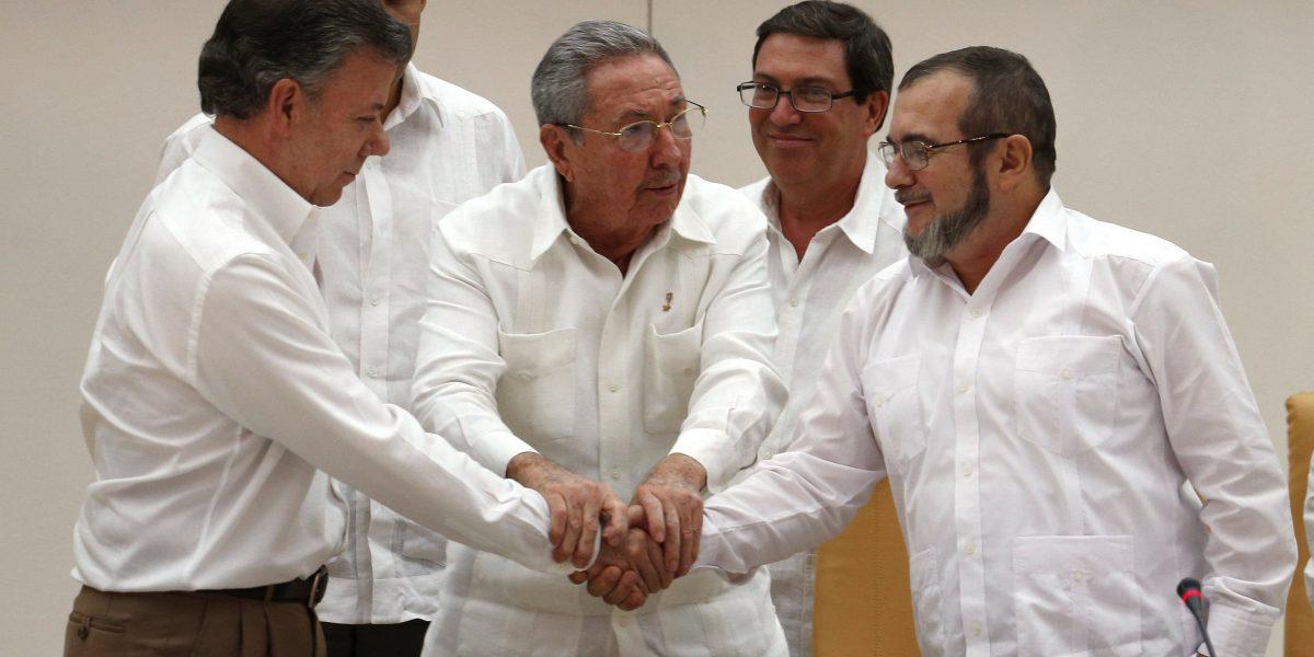 Las FARC asegura que Premio Nobel de Santos ayudará a conseguir la Paz