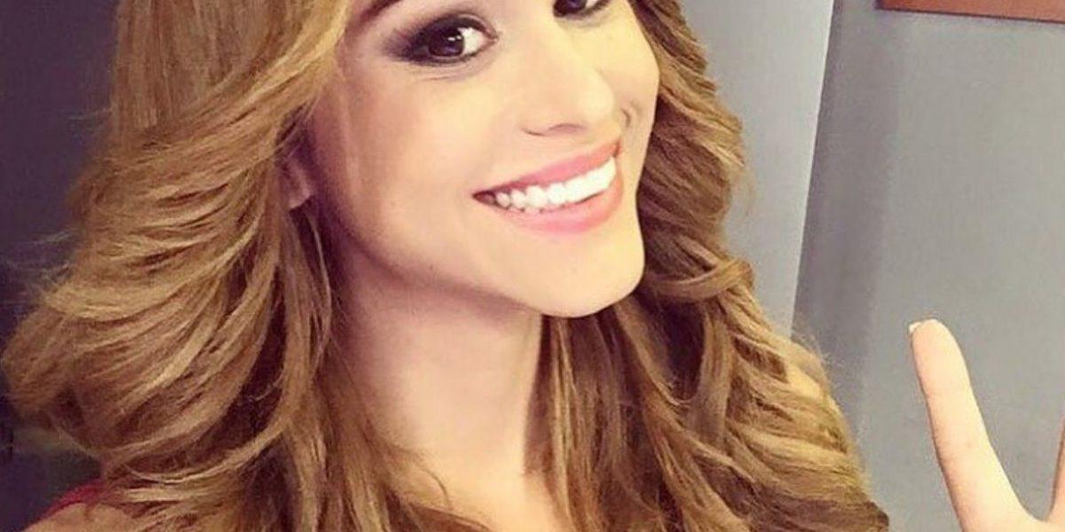 Yanet García, la chica más guapa del clima se
