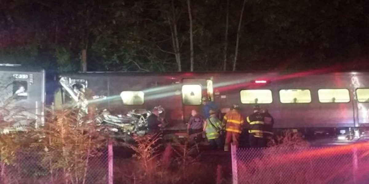 33 heridos dejó accidente de tren en  Long Island