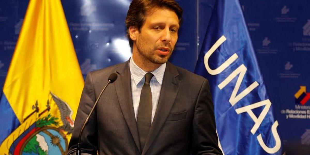 Ecuador satisfecho por inicio de negociaciones entre Gobierno Colombia y ELN